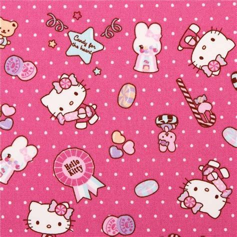 Pink My Melody Bunny Tea Plush Sanrio Oxford Fabric Iphone my melody modes in