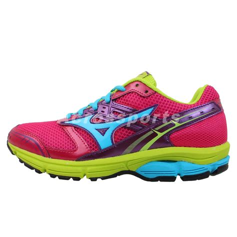 multi coloured running shoes mizuno wave impetus w 2013 womens running shoes rainbow