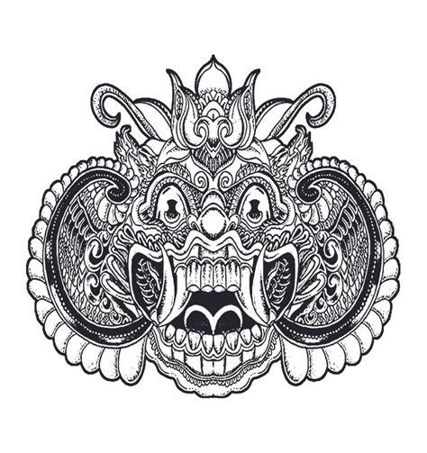jual balitato temporary tato khas bali  barong