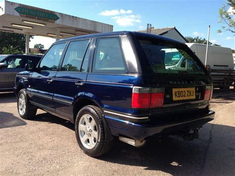used 2002 land rover range rover 4 6 vogue se 4dr auto for