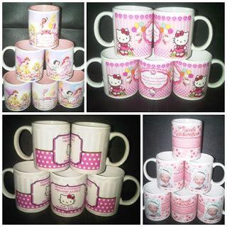 Mug Keramik Tema Karakter Spesial mug souvenir ulang tahun anak barang promosi mug