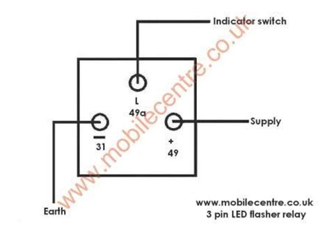 3 pin flasher relay wiring diagram 3 pole relay switch wiring diagram wiring diagram with