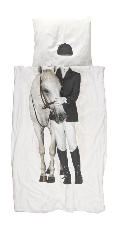 pferde bettdecke bettw 228 sche reiterin mit pferd schlafwelten
