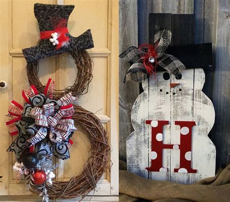 snowman home decor 31 cute snowman christmas decorations for your home