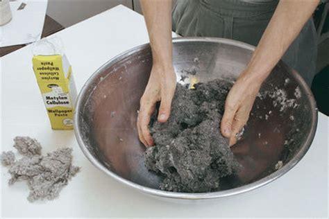 How To Make Paper Mache Glue - wallpaper paste paper mache gallery