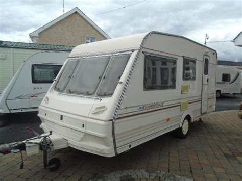 caravan awnings wanted abbey county somerset 4 berth with full awning and caravan