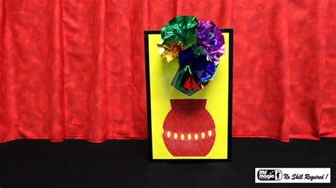 blooming vase 3d flower bouquet blooming vase by mr magic conjuring