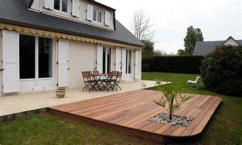terrasse de jardin en bois terrasse jardin en bois