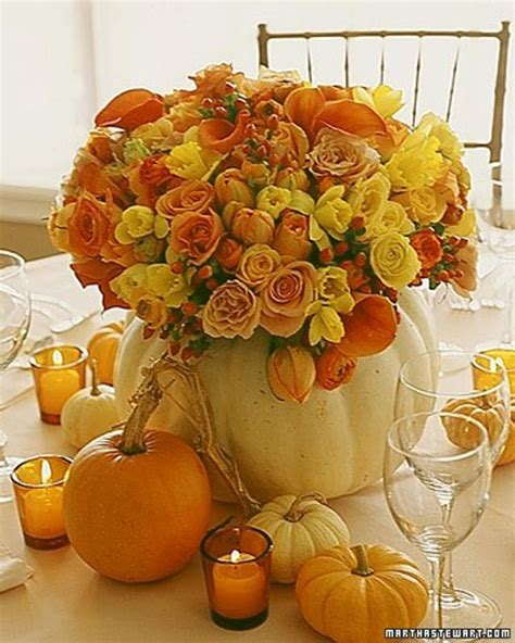 pumpkin bouquet centerpieces 47 awesome pumpkin centerpieces for fall and table digsdigs