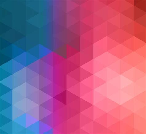 Colorful Abstract Geometric Background Vector Illustration Abstract Geometry Backgrounds Wallpaper