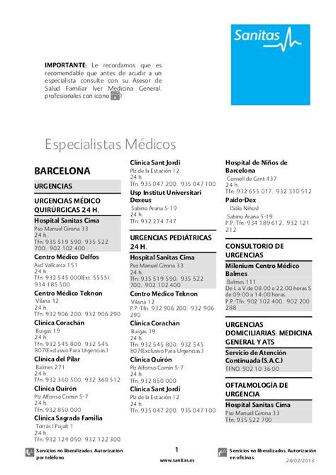 cuadro medico de sanitas en madrid cuadro medico asisa madrid 2013 pdf freewarevina