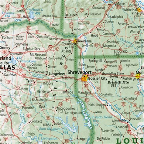 piney woods; texas, louisiana and arkansas   rediscover