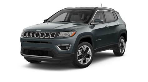 rhino jeep compass color options for the 2018 jeep compass