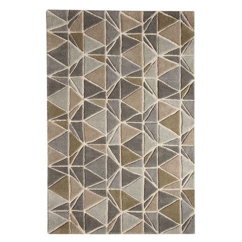 Grey And Brown Rug by Tapestry 120x180cm Rug Grey Brown Achica