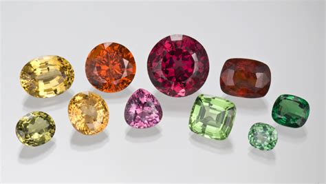 garnet colors garnet quality factors
