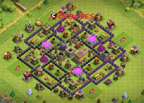 coc layout new update 12 best th8 farming base 2018 new update anti