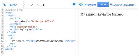 design html page using javascript javascript basics cook the web