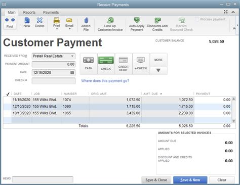Quickbooks Discounts Report by Contractor Accounting Software Quickbooks Desktop Enterprise
