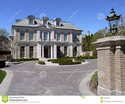 house plans with circular driveway house with circular driveway royalty free stock images image 13920129