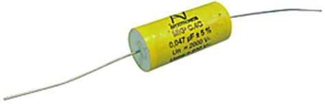 mkp series capacitor axial polypropylene capacitors