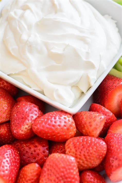 Yogurt My Healthy 4 ingredient healthy yogurt fruit dip almost supermom