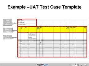 end user plan template overview of user acceptance testing uat for business
