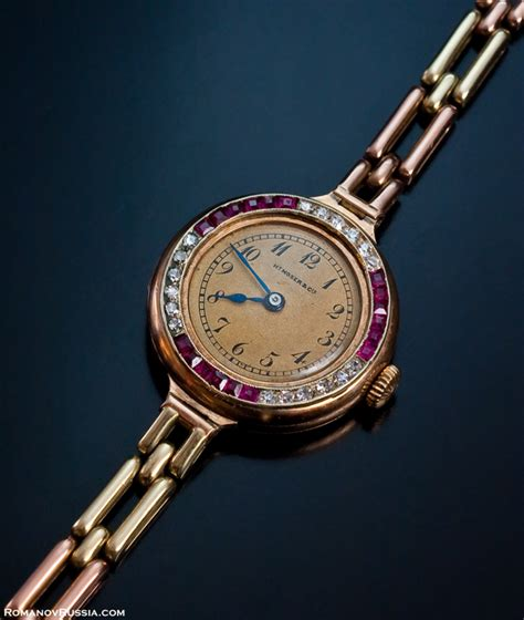 antique vintage jeweled gold ladies watches 1915 swiss