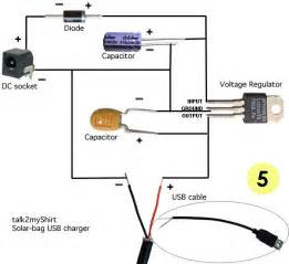 7 best images of usb charger wiring diagram usb otg cable pinout solar usb charger circuit