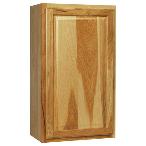 home depot hickory cabinets hton bay hton assembled 21x36x12 in wall kitchen