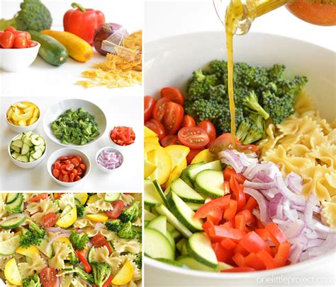 Garden Vegetable Pasta Salad Recipe Garden Vegetable Pasta