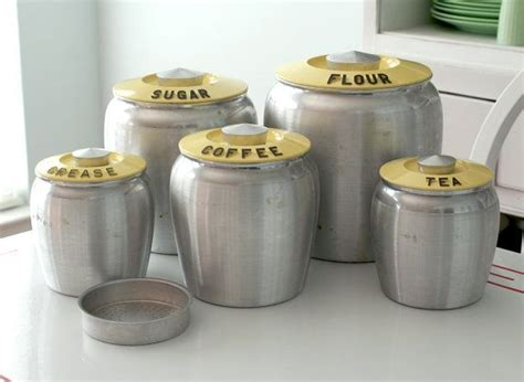 Kitchen Set 375 375 best flour sugar coffee tea images on vintage kitchen vintage canisters and
