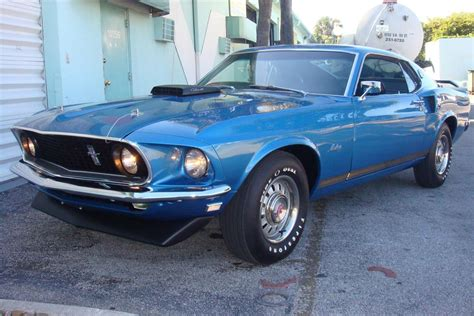4 30 gears mustang 1969 ford mustang gt 428 scj fastback 151364