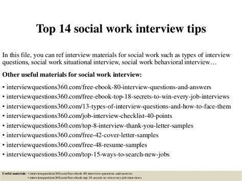 top 14 social work tips
