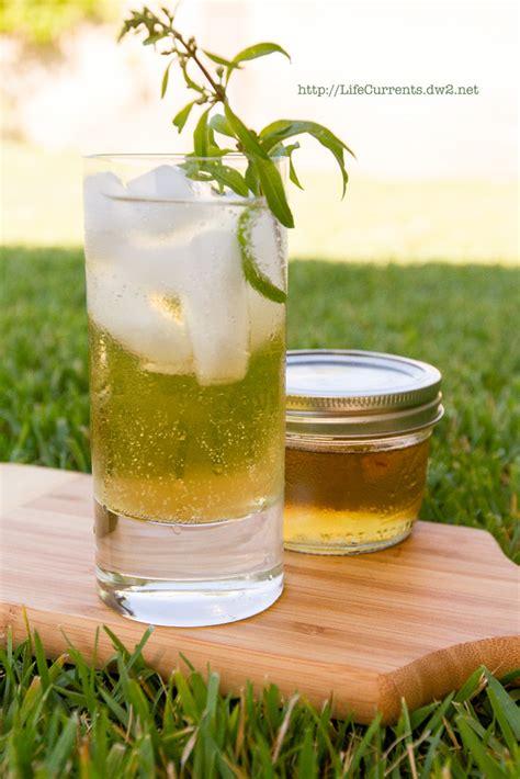 lemon verbena and basil simple syrups life currents
