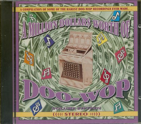 millions dollars volume 5 books various a million dollars worth of doo wop vol 15 cd