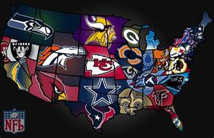 us map by nfl teams nfl on tv radio week 5 fanfood it s gameday somewhere