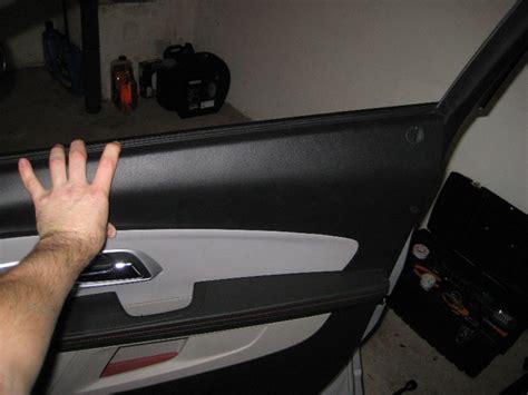 service manual how to remove 2007 chevrolet equinox door