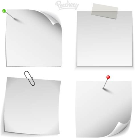 note card template illustrator white note paper templates free vector in adobe