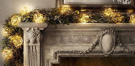 fireplace garland with lights 1066 best christmas decor images on pinterest christmas