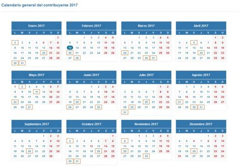 plazos para presentar declaracion de renta 2016 calendario para presentar la declaraci 243 n de la renta en