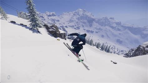 open snow snow ps4 pc open world ski and snowboard game youtube