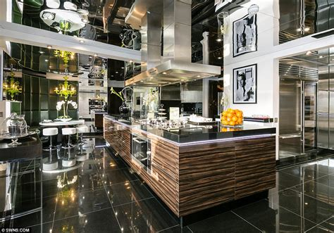 go inside 10 stunning celebrity kitchens london penthouse once home to rihanna and tom cruise for