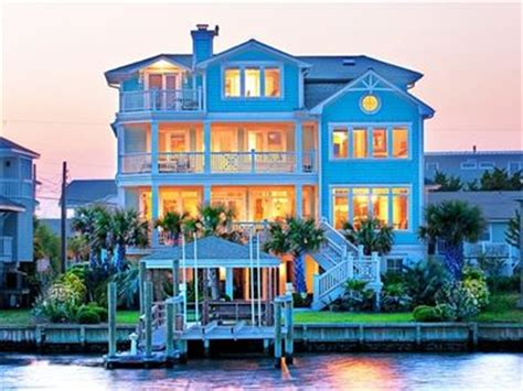 Designer S Own Fabulous Home With 30 Ft Dock Vrbo House Rentals Wrightsville Nc