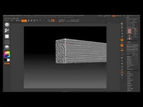 zbrush wood tutorial zbrush wood sculpt youtube