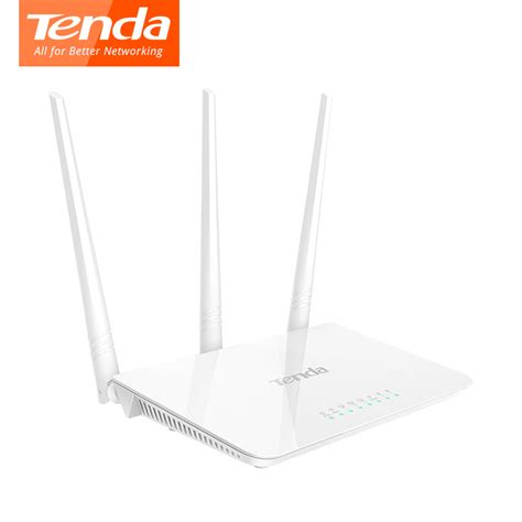Router Tenda 2 Anten tenda f3 wifi router 300mpbs 3 antenna 200 square meters signal of coverage wireless router