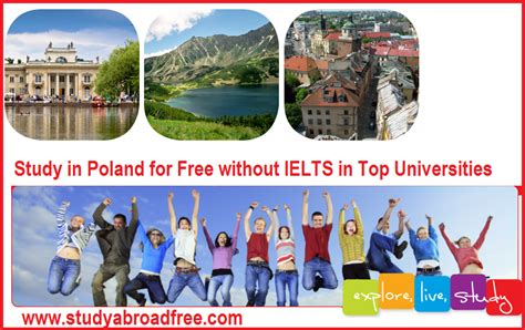 Mba Colleges In Canada Without Ielts by Study In Poland For Free 2018 Study In Poland Without