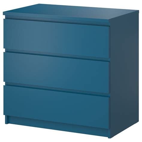 Malm 5 Drawer Dresser Malm Chest Of 3 Drawers Turquoise