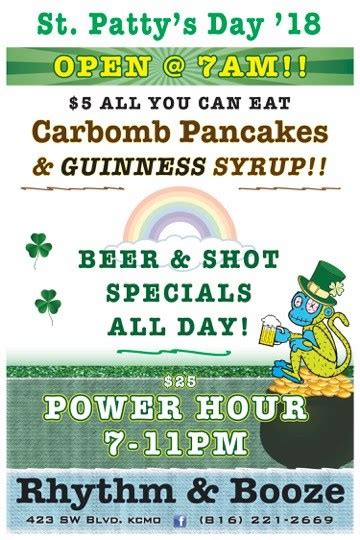 st s day deals st s day 2018 downtown rhythm booze