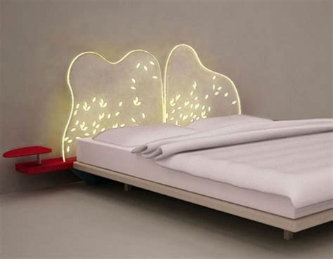 beds with lighted headboards lighted dreamy bed headboard design