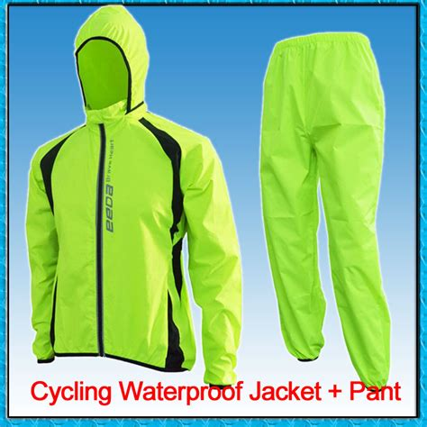 Unisex Breathable Waterproof Soft Shell Cycling Jackets